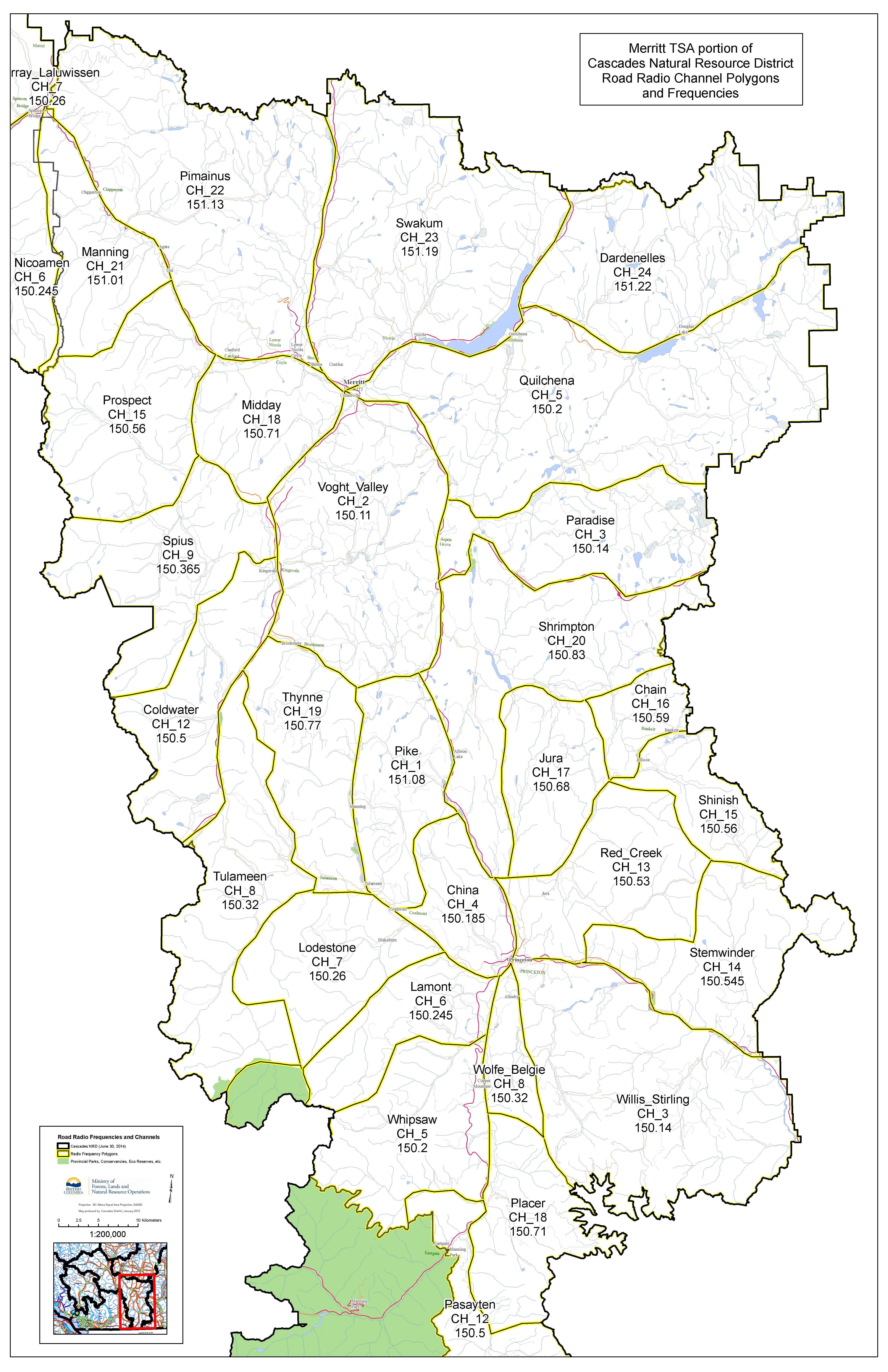 Merritt RR Map