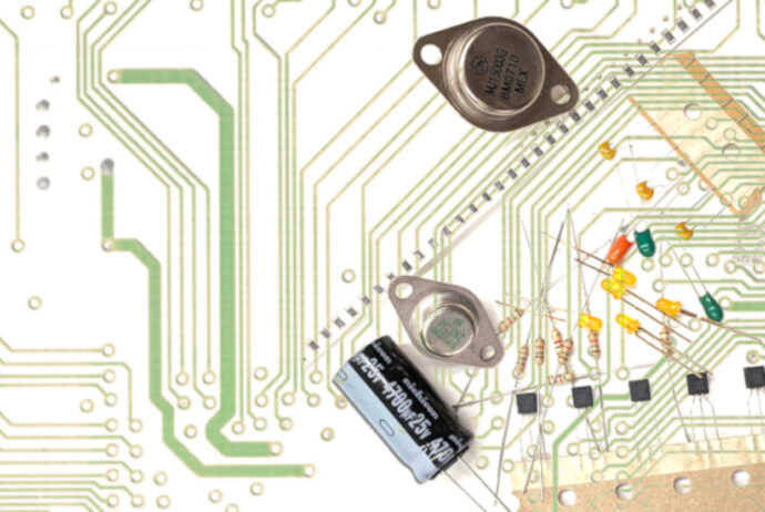Electronic Parts Banner